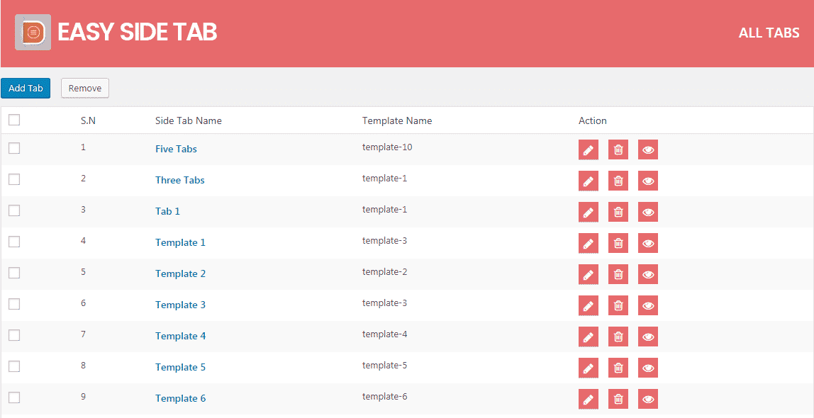 all tabs 1024x526 - How to Add a Responsive Floating Tab on WordPress Website? (Step by Step Guide)
