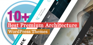 Best Premium Architecture WordPress Themes