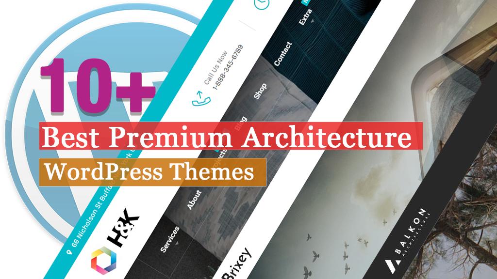 Best Premium Architecture WordPress Themes