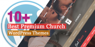 Best Premium Church WordPress Themes