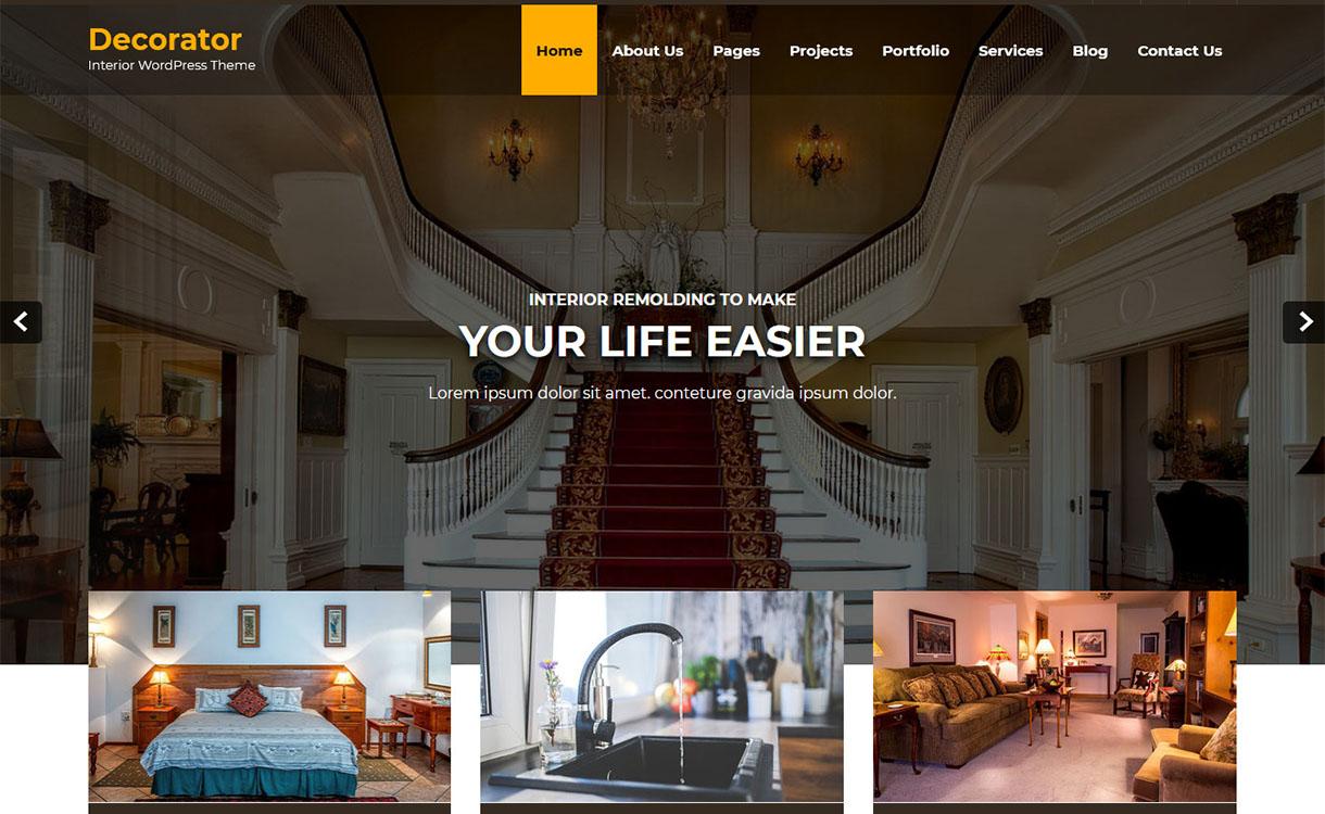 decorator-best-free-architecture-wordpress-theme