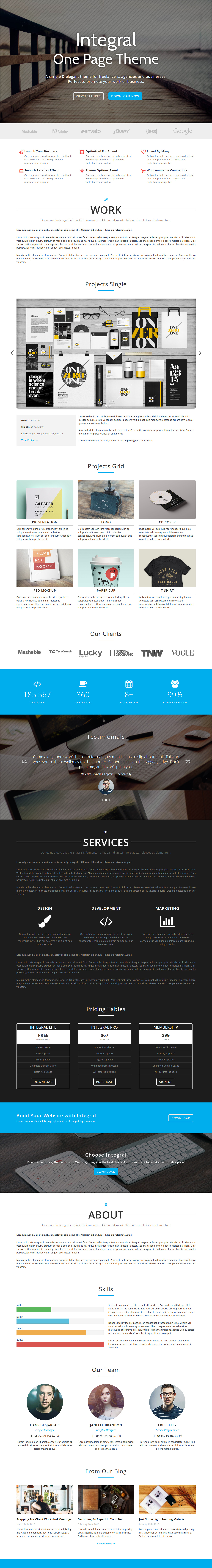 integral best free architecture wordpress theme - 10+ Best Free Architecture WordPress Themes