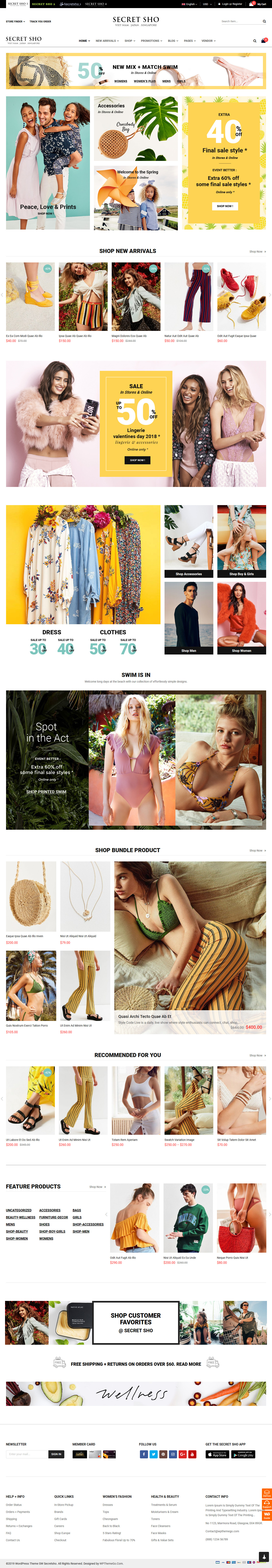 secretsho best premium marketplace wordpress theme - 10+ Best Premium Marketplace WordPress Themes