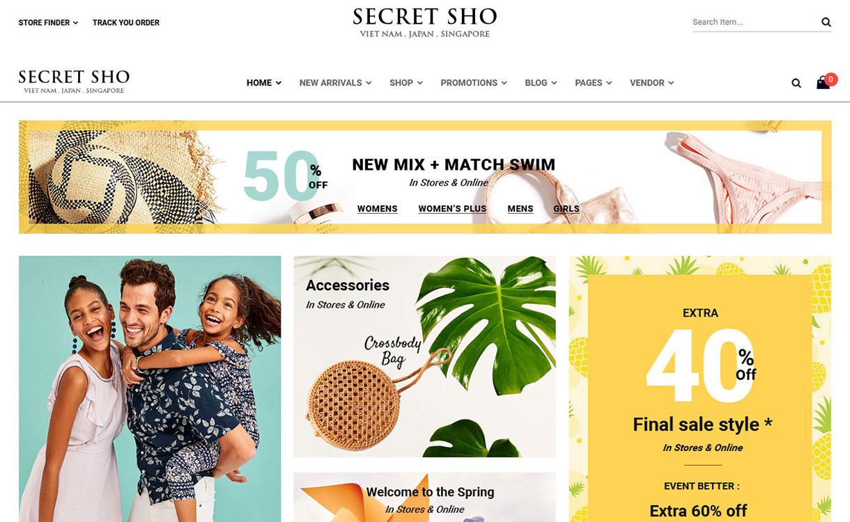 Scretsho - Premium Marketplace WordPress Theme