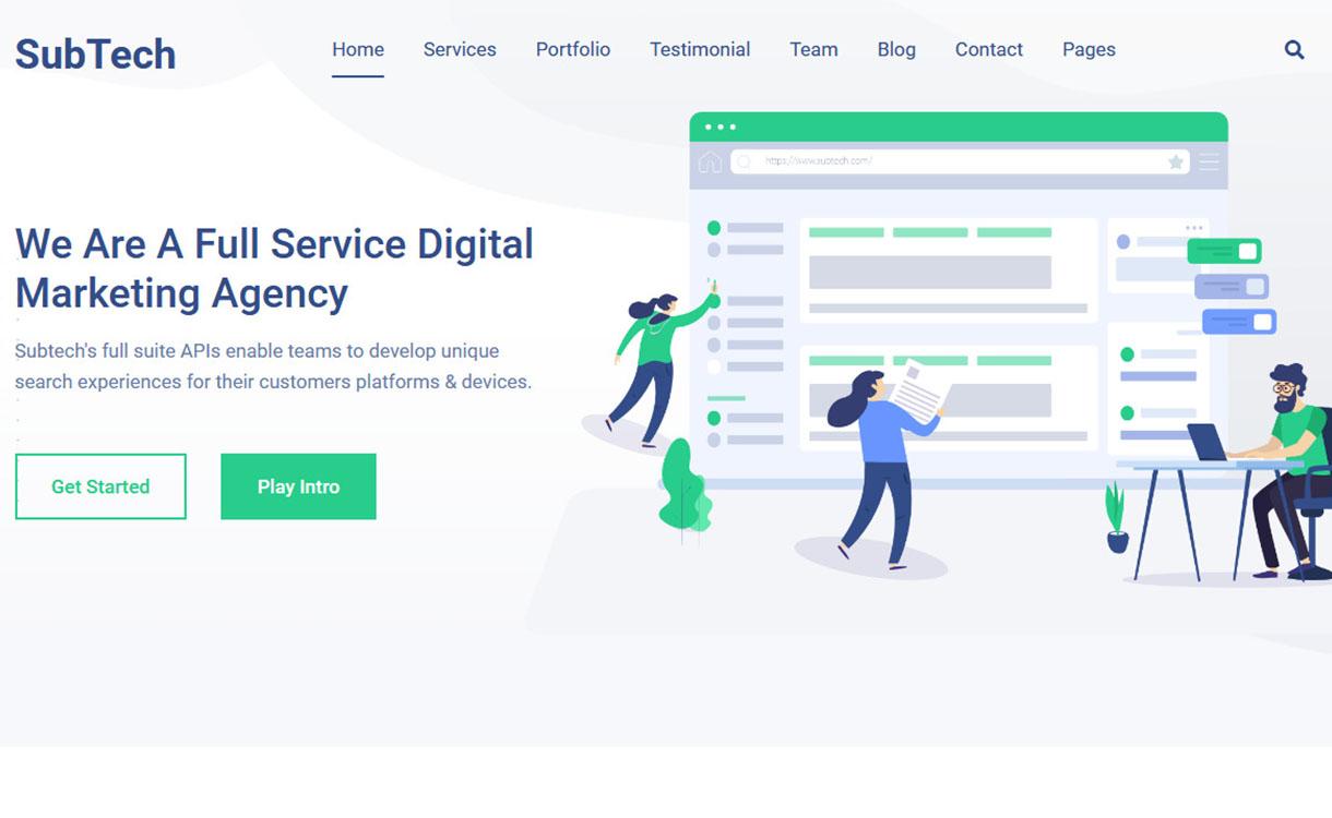 sub-tech-best-premium-seo-agency-wordpress-theme