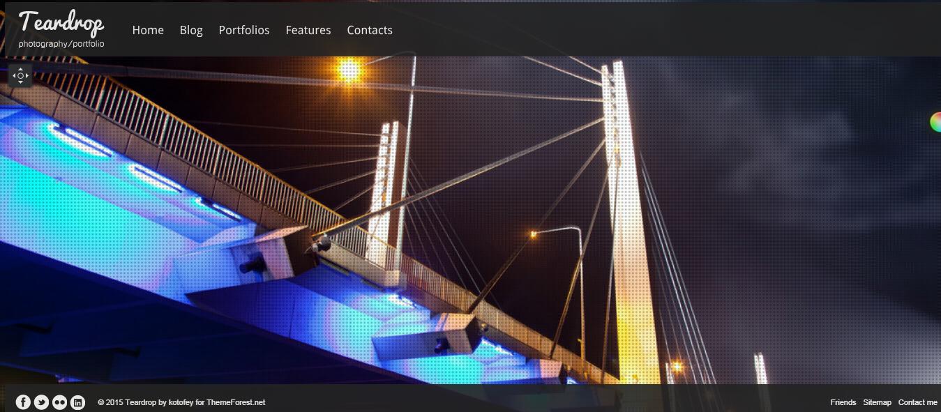 teardrop best premium fullscreen wordpress theme - 10+ Best Premium FullScreen WordPress Themes
