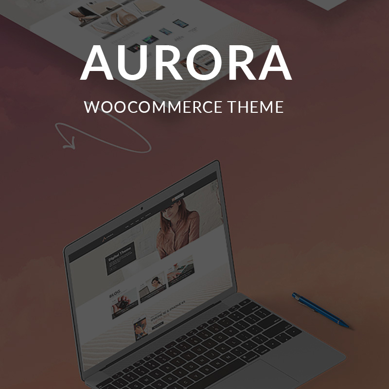 Aurora - WordPress feminine blog theme