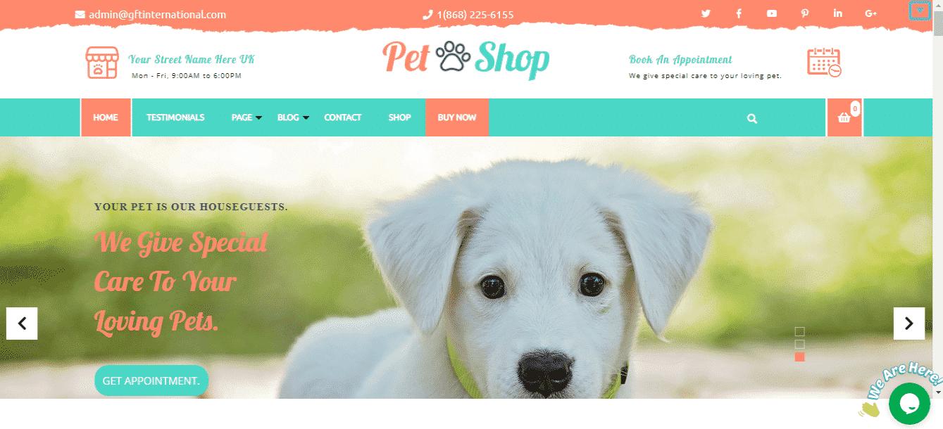 Advance Pet Care - Best Free WordPress Animal and Pet Theme