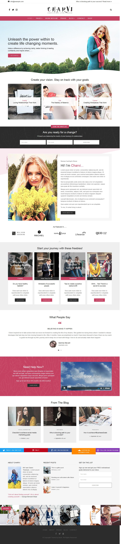 charvi coach consulting best premium feminine wordpress theme - 10+ Best Feminine WordPress Themes (Premium Version)