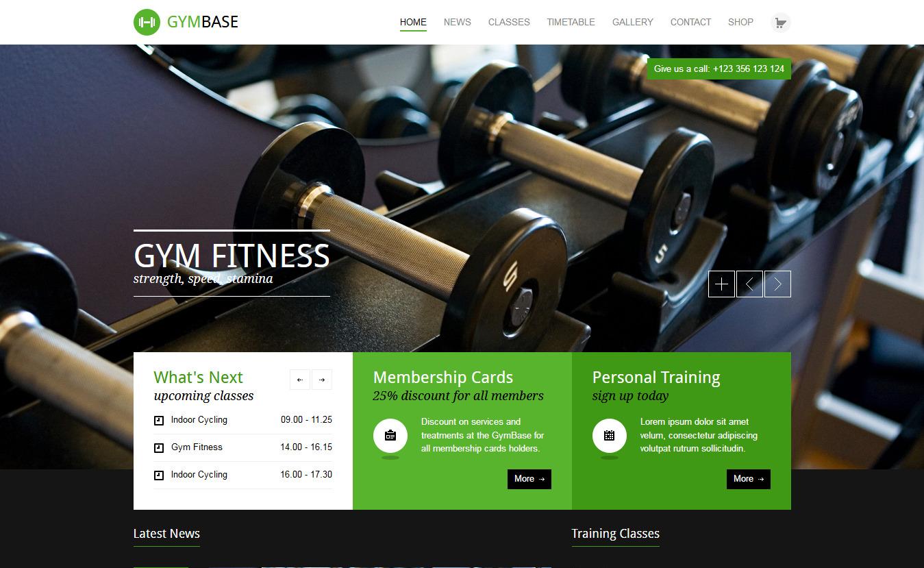 GymBase- Best Premium Fitness WordPress Theme