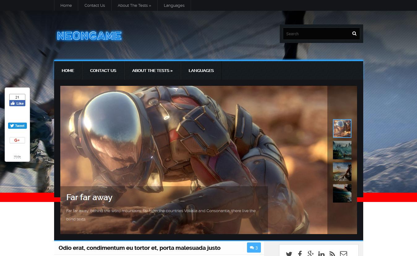10+ Best Free Gaming WordPress Themes