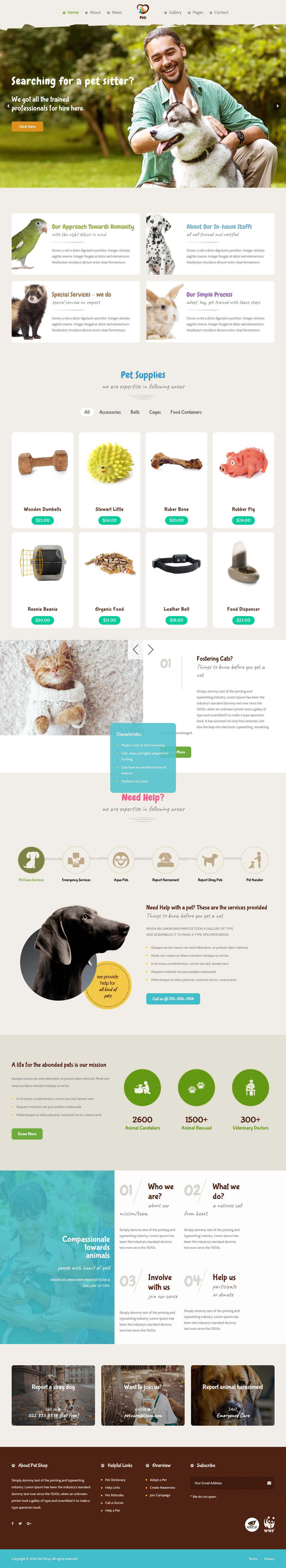 Pet World - Best Premium Animal and Pet WordPress Theme