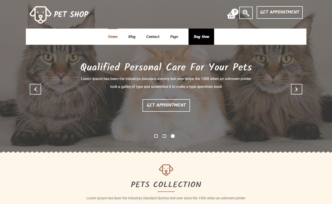 13+ Best Free Animal and Pet WordPress Themes