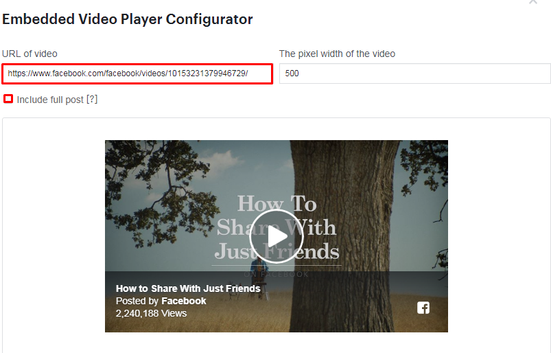Embed a Facebook Video in WordPress. - How to Embed a Facebook Video in Your WordPress Site?