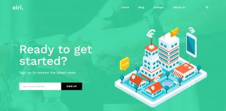 Airi – Free WordPress Business Theme