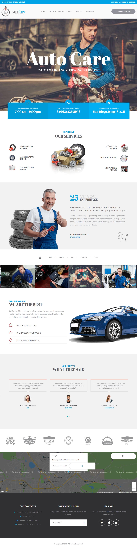 AutoCare - Best Premium Automobile WordPress Theme