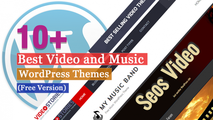 Best Free Video and Music WordPress Themes