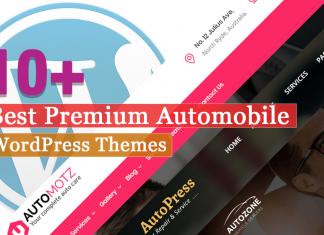 Best Premium Automobile WordPress Themes