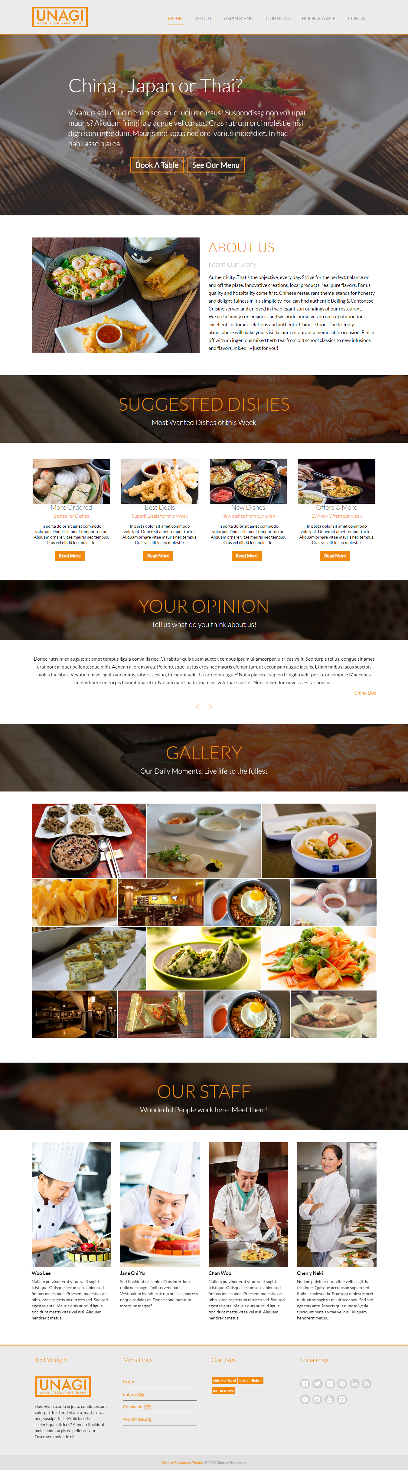 chinese restaurant lite best free bar pub wordpress theme - 10+ Best Free Bar and Pub WordPress Themes