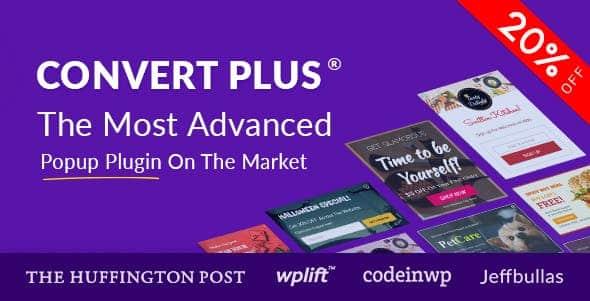convert plus - Ninja Popups vs Convert Plus vs Layered Popups - Which is the Best WordPress Popup Plugins?