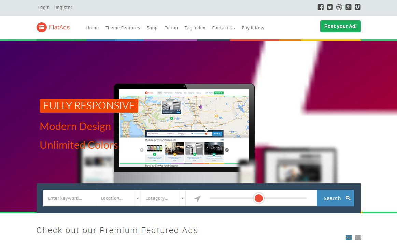 10+ Best Premium Classified WordPress Themes