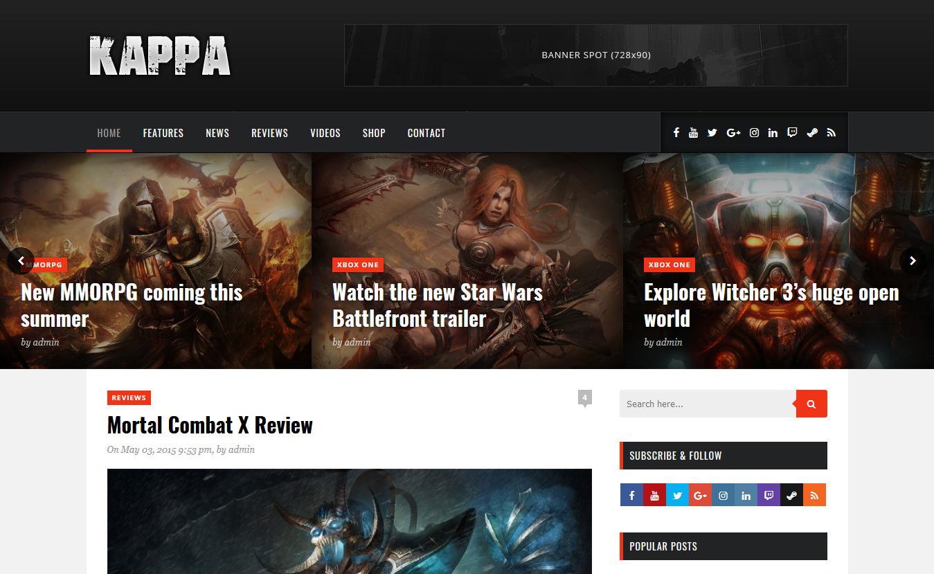 10+ Best Premium Gaming WordPress Themes