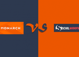 Monarch vs Social Warfare - Which is the Best WordPress Social Share Plugin?