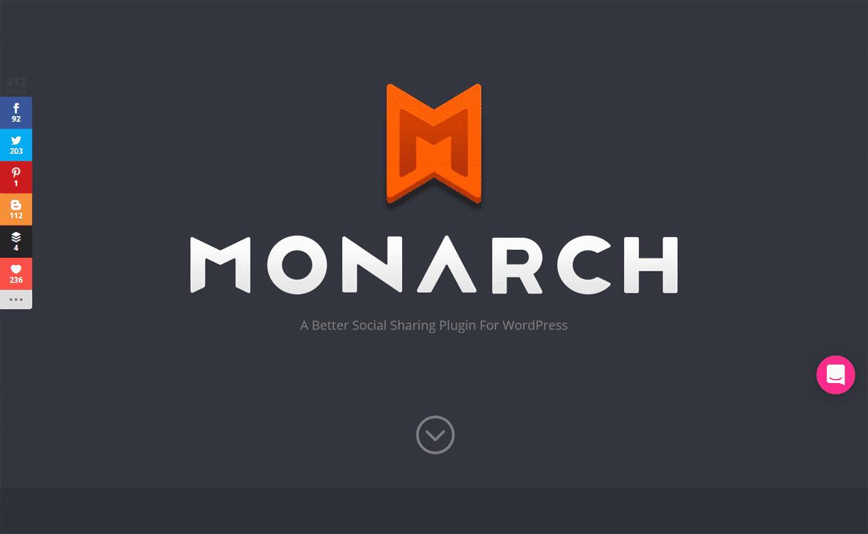 monarch - Monarch vs Social Warfare - Which is the Best WordPress Social Share Plugins?