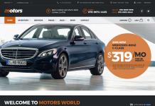 Motors - PremiumWordPress Automotive Theme