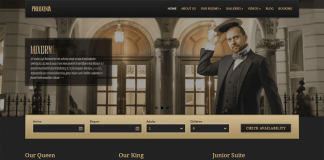 Philoxenia - Elegantly designed WordPress Hotel Theme