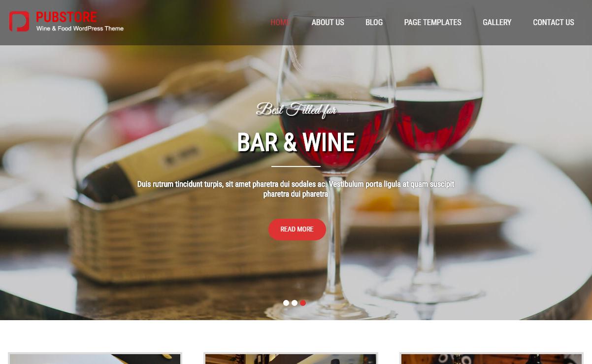 10+ Best Free Bar and Pub WordPress Themes