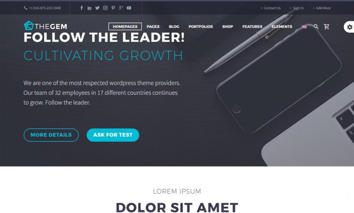 TheGem - Creative Multipurpose WordPress Theme