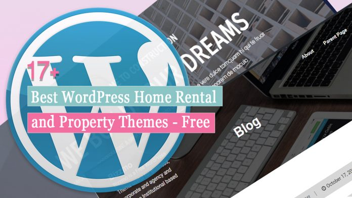 17+ Best WordPress Home Rental and Property Themes - Free