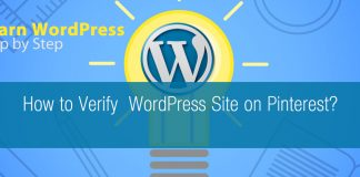 How to Verify WordPress Site on Pinterest