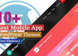 Best Free Mobile App WordPress Themes