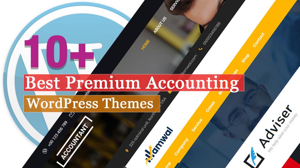 Best Premium Accounting WordPress Themes