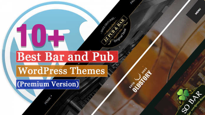 Best Premium Bar and Pub WordPress Themes