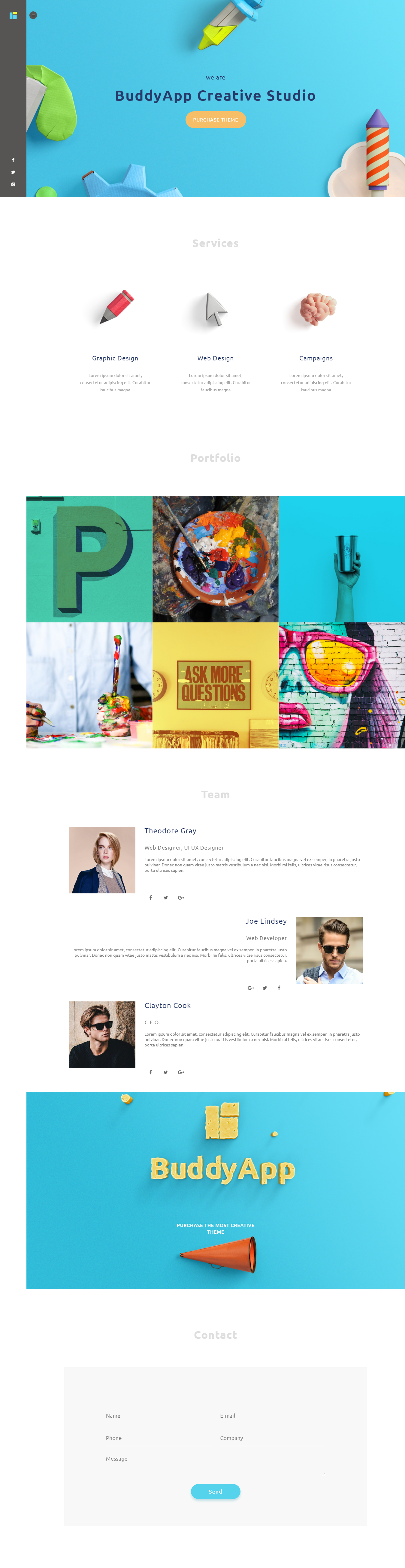 buddyapp best premium mobile app wordpress theme - 10+ Best Premium Mobile App WordPress Themes