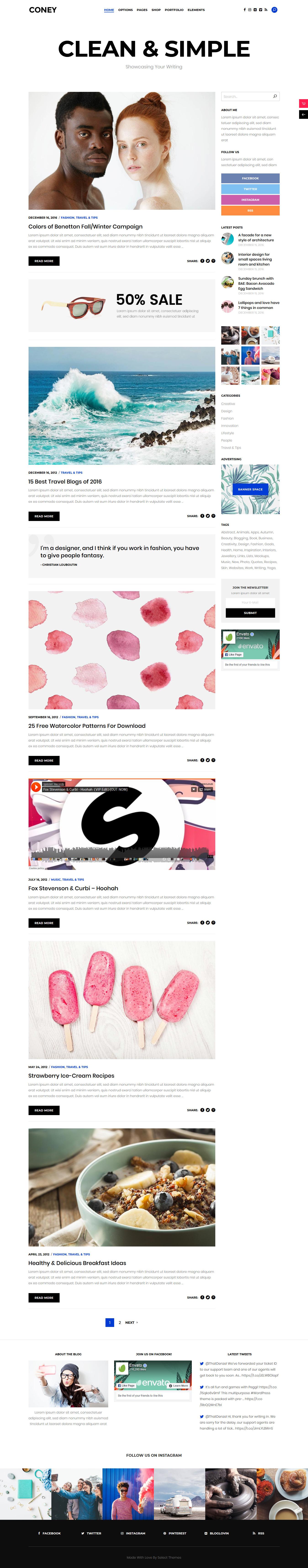 coney best premium multilingual wordpress theme - 10+ Best Premium Multilingual WordPress Themes