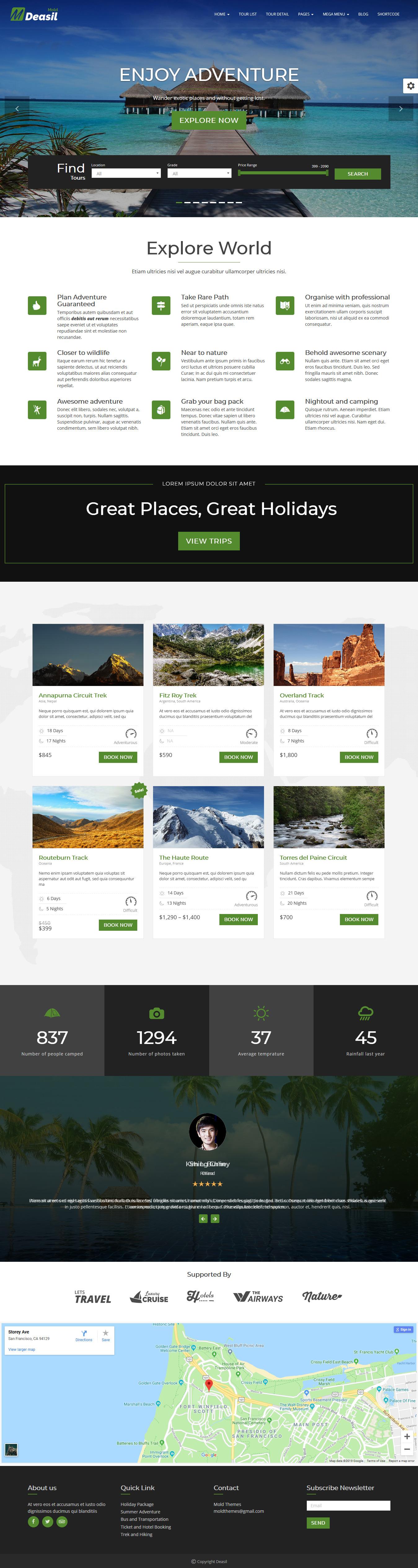 deasil best premium multilingual wordpress theme - 10+ Best Premium Multilingual WordPress Themes