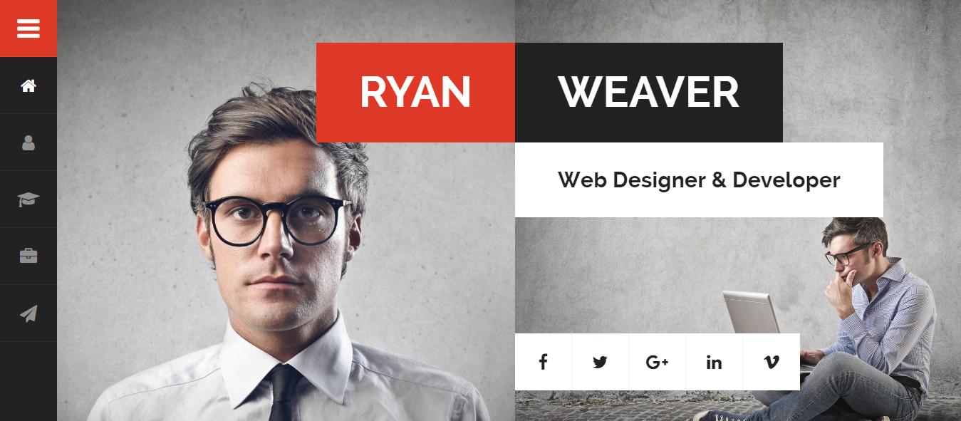 divergent best premium resume wordpress theme - 10+ Best Premium Resume WordPress Themes