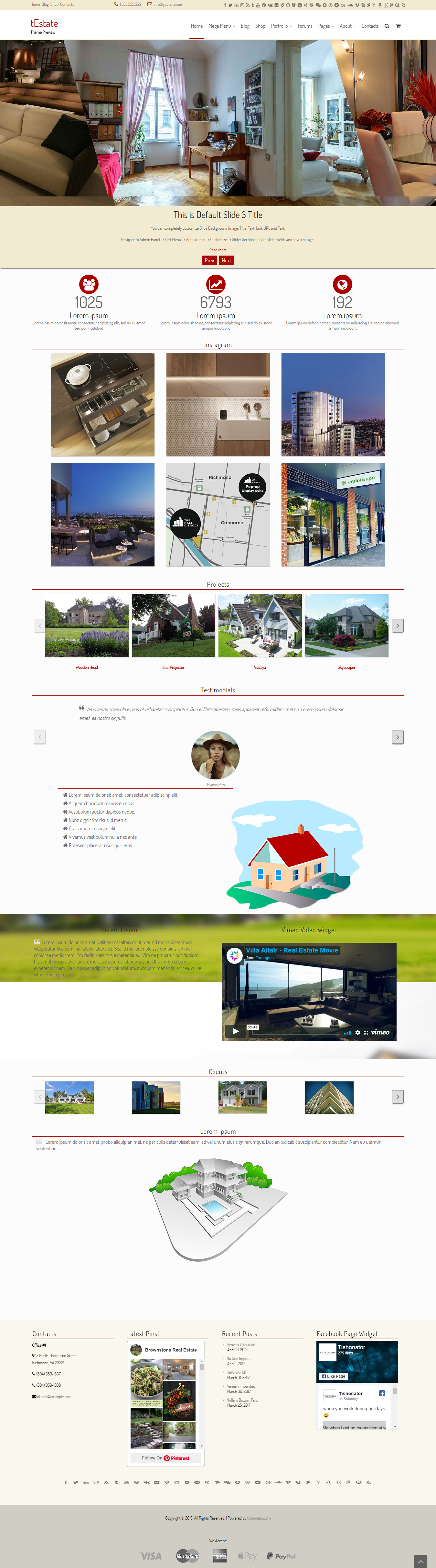 festate best free home rental property wordpress theme - 10+ Best Free Home Rental and Property WordPress Themes