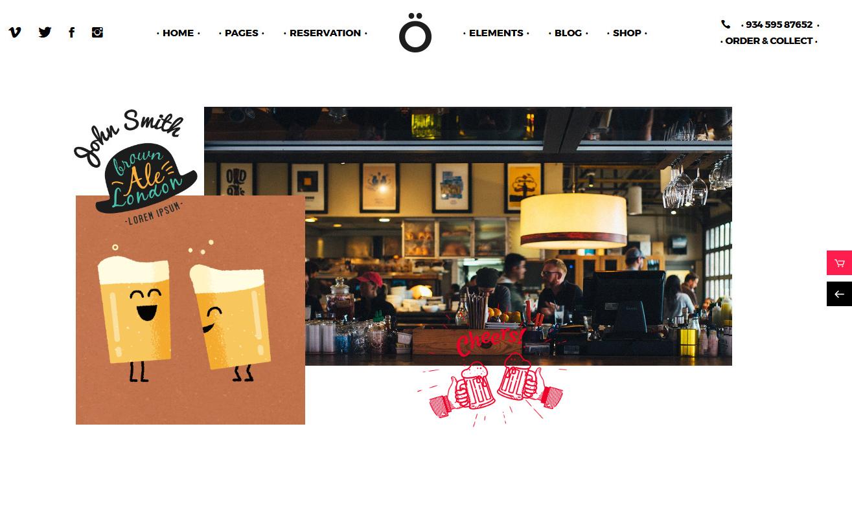 10+ Best Premium Bar and Pub WordPress Themes