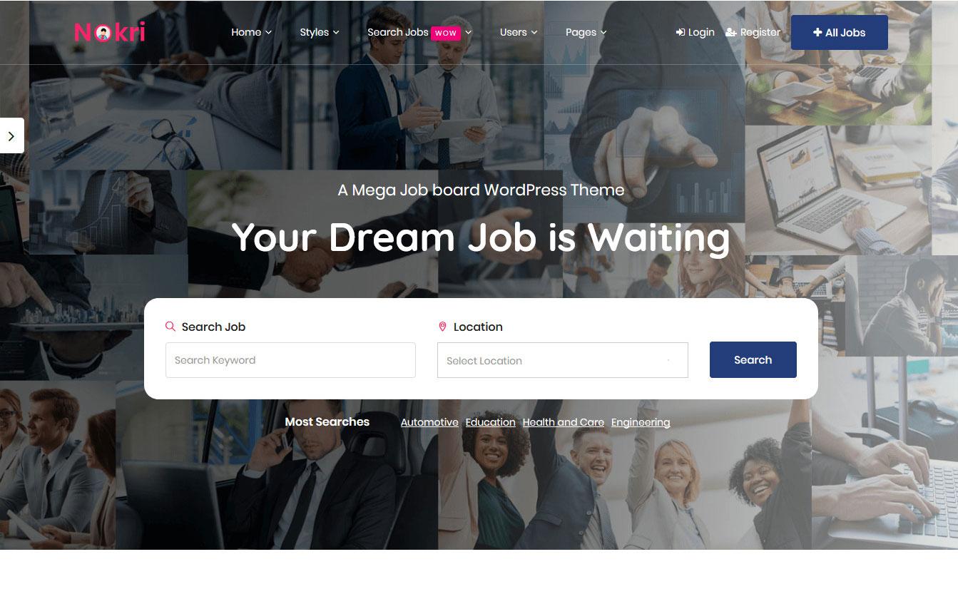 10+ Best Premium Job Board WordPress Themes