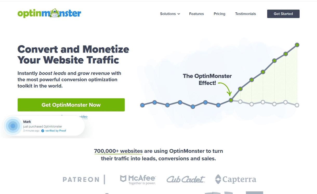 optinmonster - Bloom vs OptinMonster vs Thrive Leads - Which is the Best WordPress Email Optin Plugins?