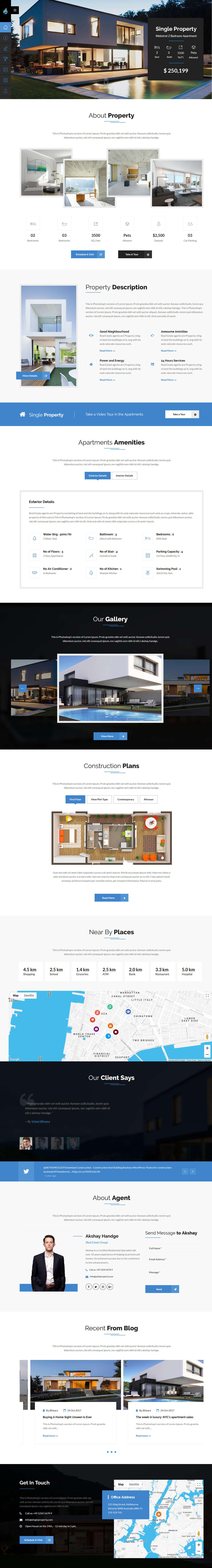 pate property best premium home rental property wordpress theme - 10+ Best Premium Home Rental and Property WordPress Themes