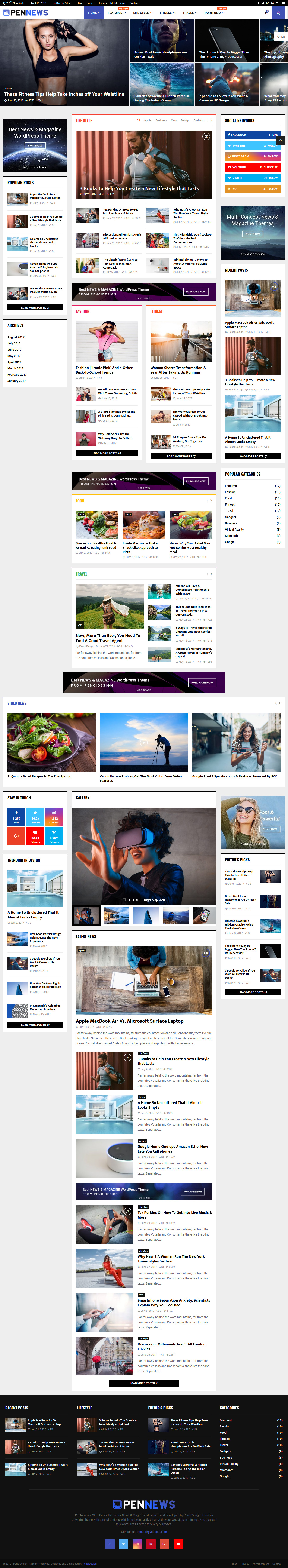 pennews best premium review wordpress theme - 10+ Best Premium Review WordPress Themes