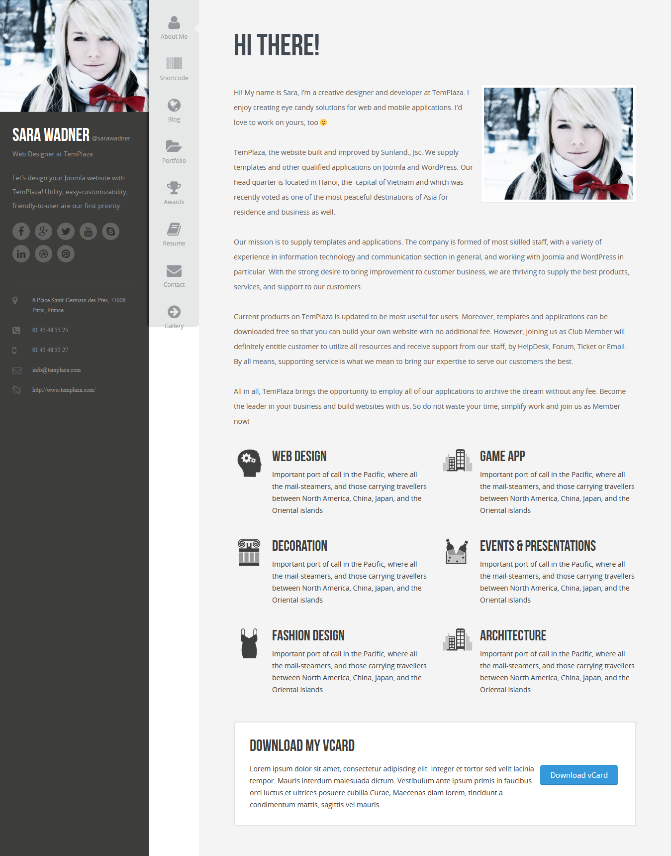profiler best premium resume wordpress theme - 10+ Best Premium Resume WordPress Themes