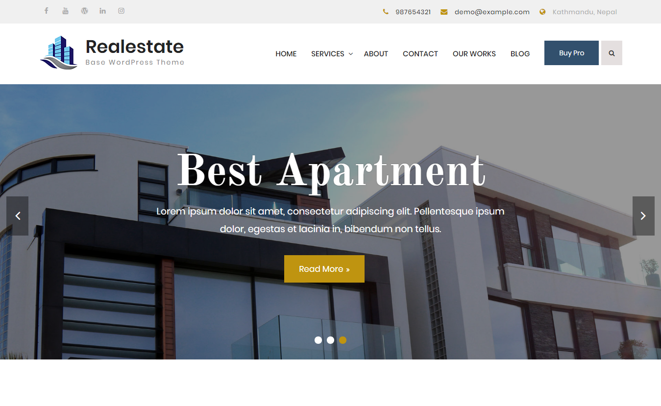 17+ Best WordPress Home Rental and Property Themes FREE