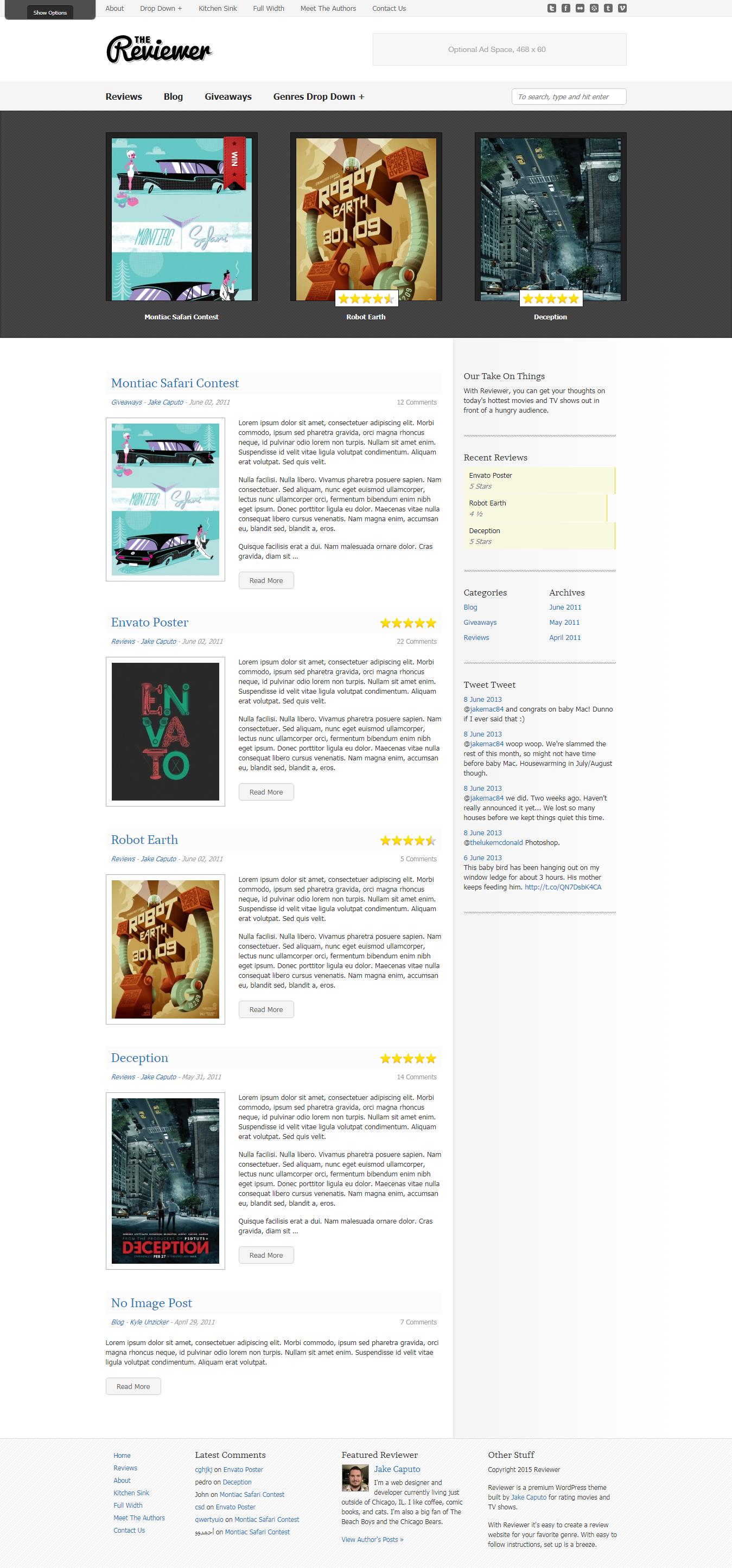 reviewer best premium review wordpress theme - 10+ Best Premium Review WordPress Themes